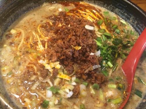 ごま金 坦々麺2