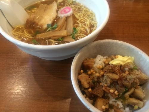 testu 中華そば+チャーシュ-丼2
